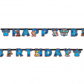 Baner Happy Birthday PSI Patrol PAW girlanda 240cm