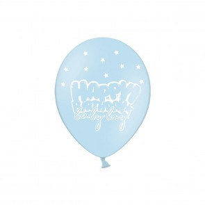 Balony Happy Birthday Baby Boy ROCZEK 30 cm 5 szt
