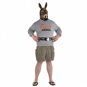 Kostium Męski Party Animal Osioł Jackass r.XL/XXL