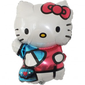 Balon foliowy Hello Kitty Kotek 73 x 50 cm
