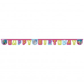 . Baner girlanda Happy Birthday Kraina Lodu Frozen