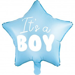Balon foliowy Gwiazdka It's a boy Baby Shower 48cm